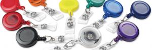ID Badge Accessories • Badge Reels