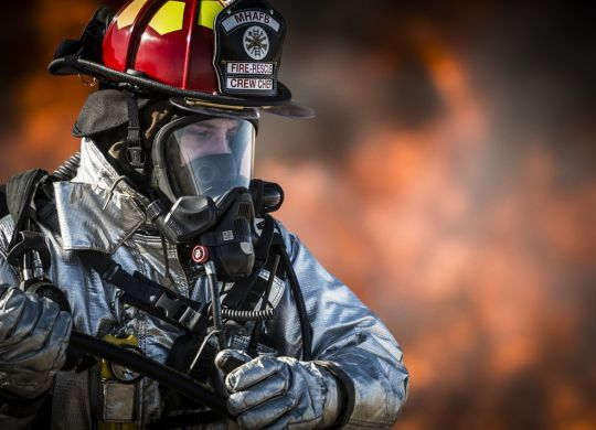 3-up Key Tags for Firefighters: Accountability Tags